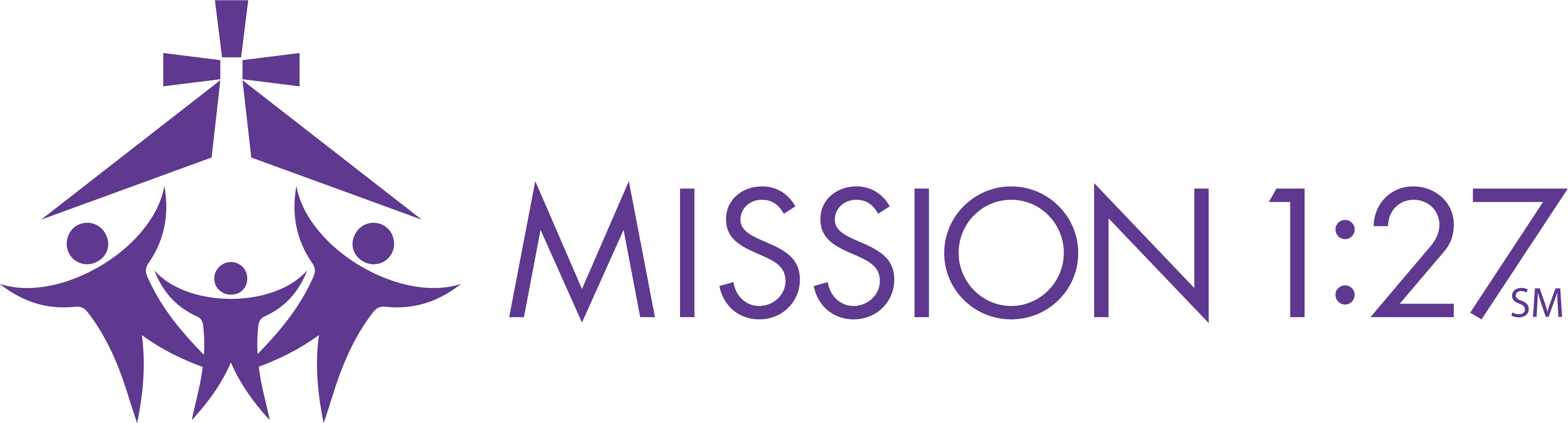 Mission127 Logo Horizontal No Tagline Purple