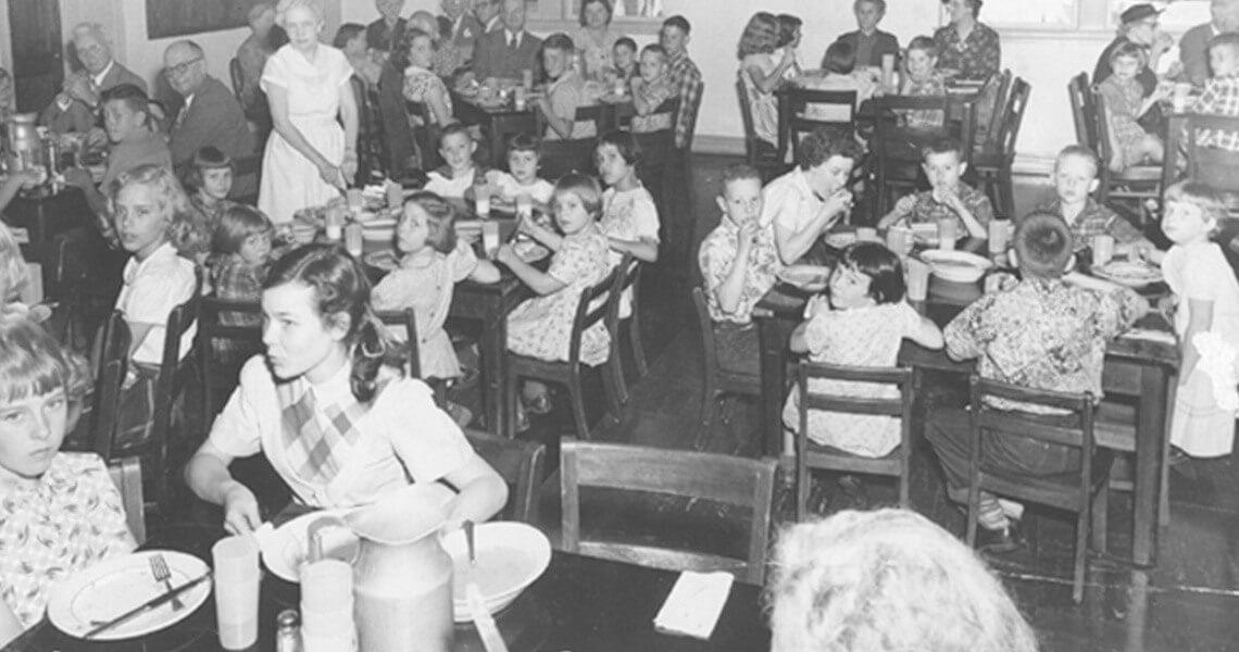Lunchroom Farmington Mo 1940