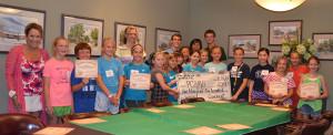 Children of Covenant Presbyterian's VBS Raise $2,500 for PCHAS!