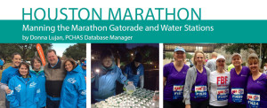 Manning the Marathon Gatorade and Water Stations