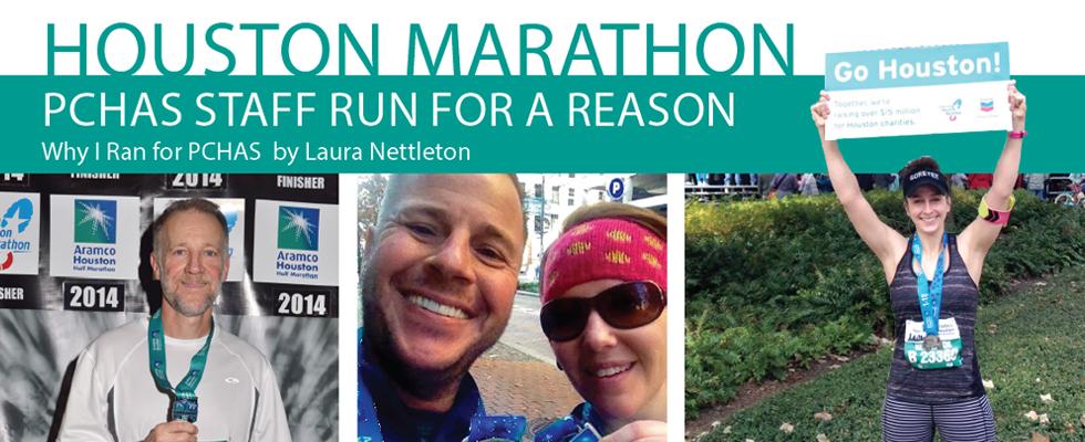 Houston Marathon Laura