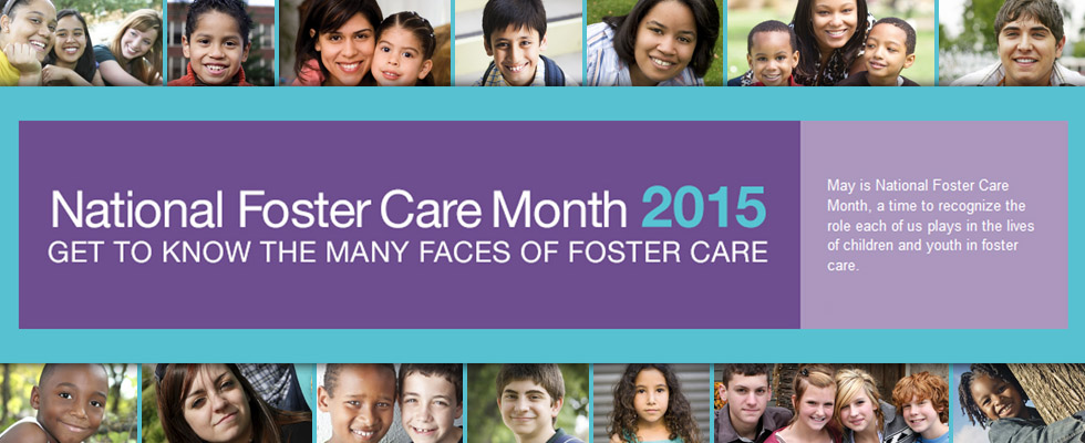 Foster Care Website Banner Collage