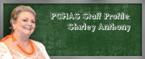 Shirley Anthony, Educational Coordinator