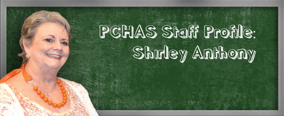 Shirley Anthony, Educational Coordinator