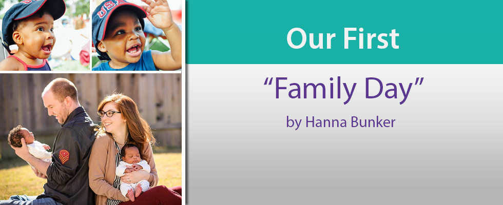 """Our First """"Family Day"""""""