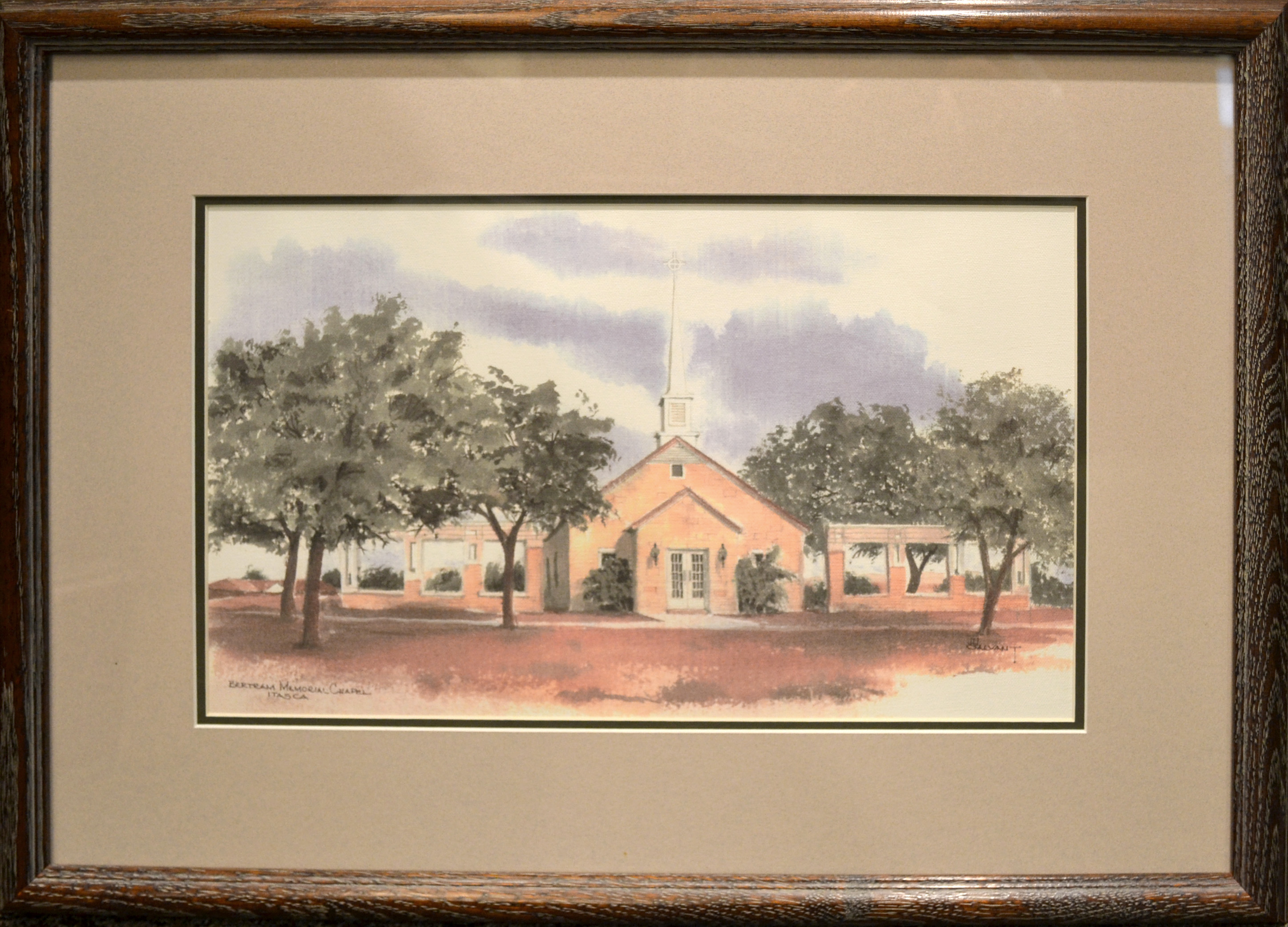 Watercolor artists directory wiki - Itasca_chapel