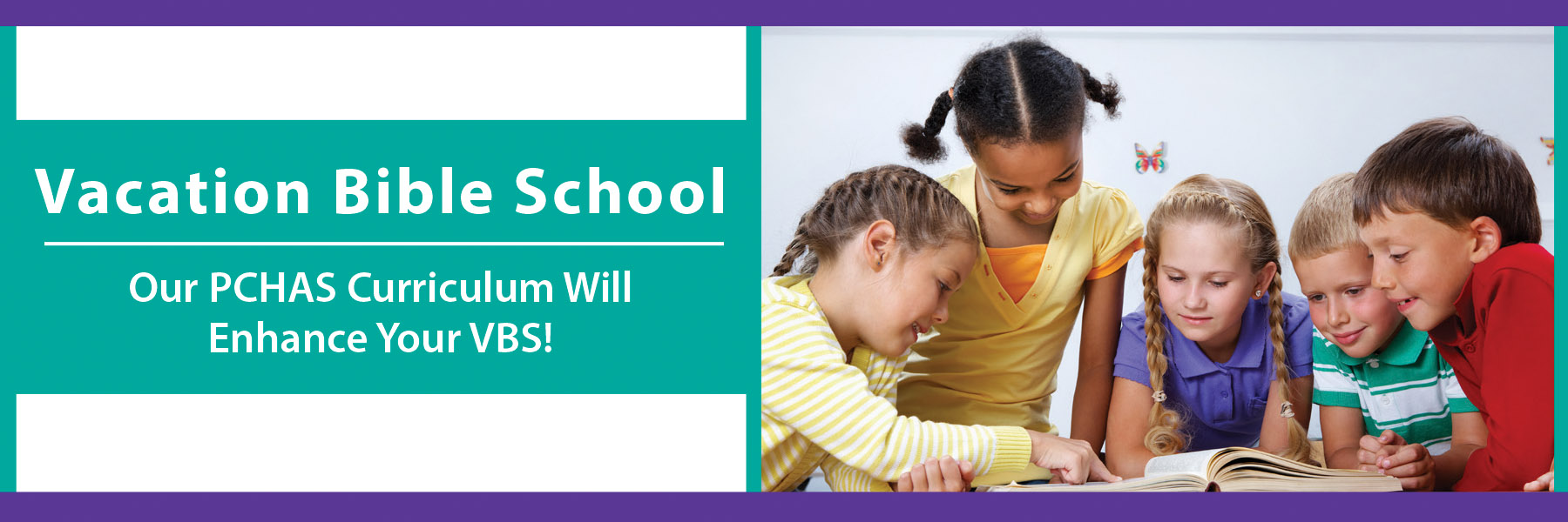 VBS Webpage Banner