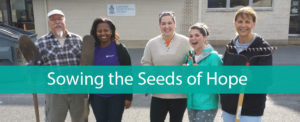 Lakeview Presbyterian Church Volunteers Sowing Seeds of Hope for PCHAS Client