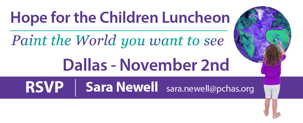 Upcoming PCHAS Dallas Luncheon!