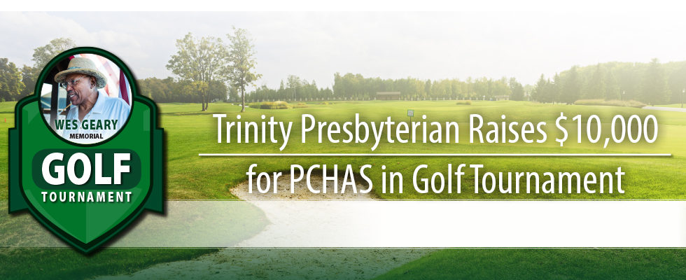 Trinity Presbyterian Raises $10,000 for PCHAS in Golf Tournament