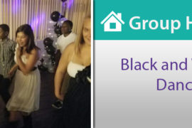 "Group Homes Throw ""Black and White""-themed Dance"