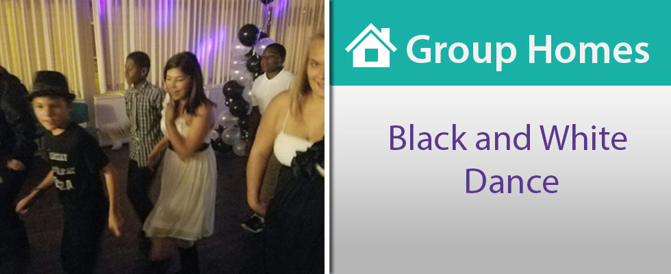 """Group Homes Throw """"Black and White""""-themed Dance"""