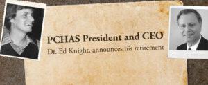Dr. Ed Knight to retire Dec 31, 2017