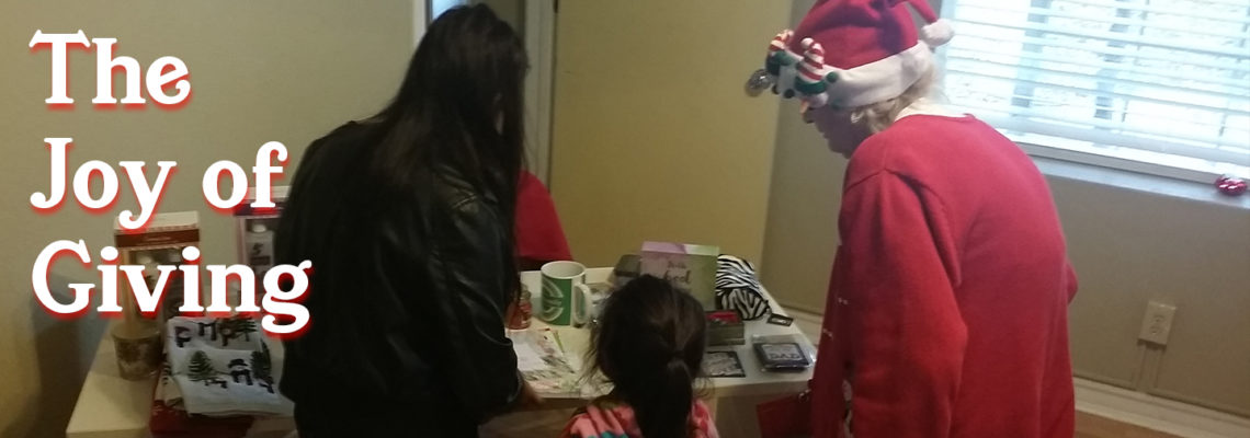 """The Joy of Giving: Kids """"Shop"""" for Presents for their Parents at PCHAS Christmas Party"""