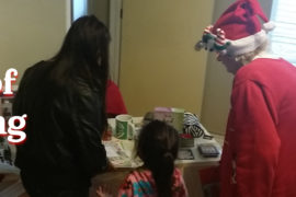 "The Joy of Giving: Kids ""Shop"" for Presents for their Parents at PCHAS Christmas Party"