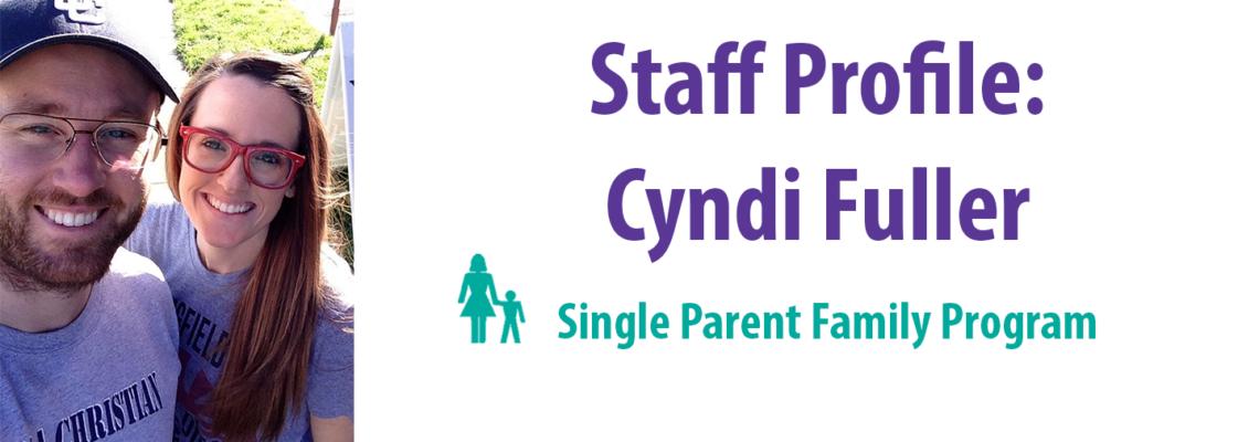 Staff Profile: Cyndi Fuller