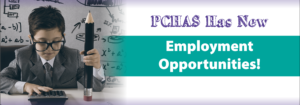 PCHAS is Hiring!