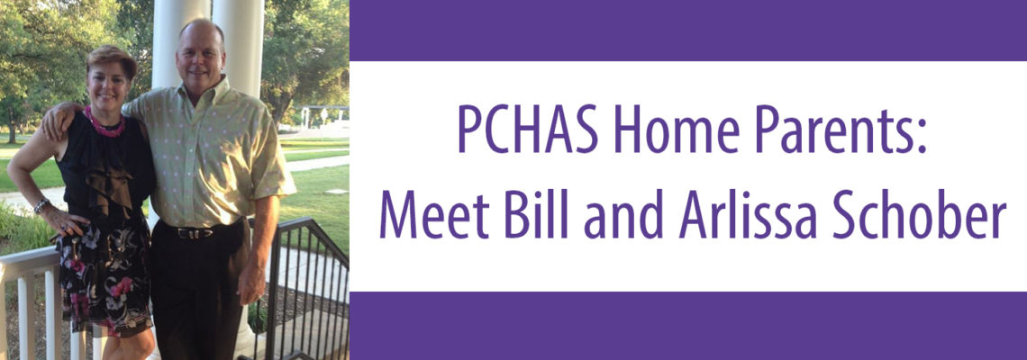 PCHAS Home Parents: Meet Bill and Arlissa Schober
