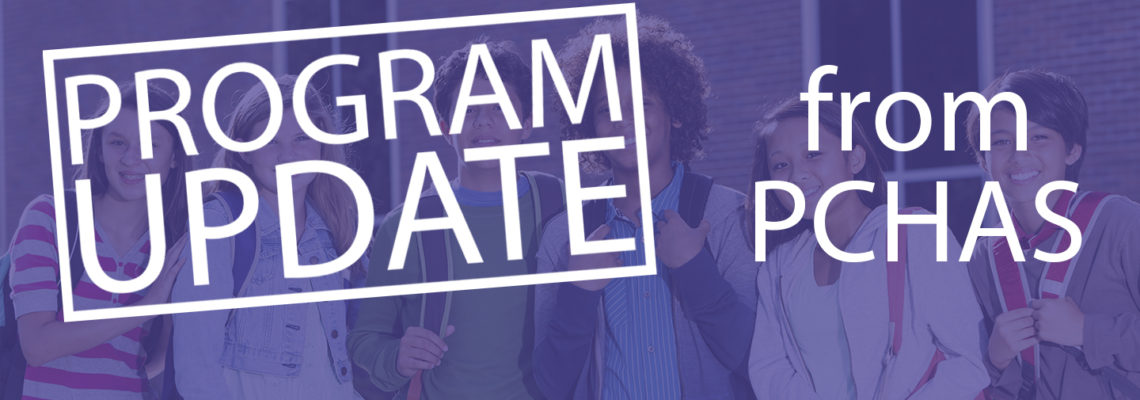 Program Update from PCHAS