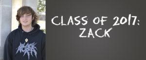 Class of 2017: Zack