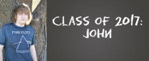 Class of 2017: John
