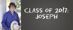 Class of 2017: Joseph