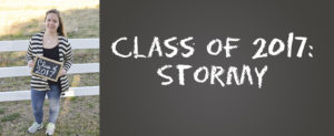 Class of 2017: Stormy