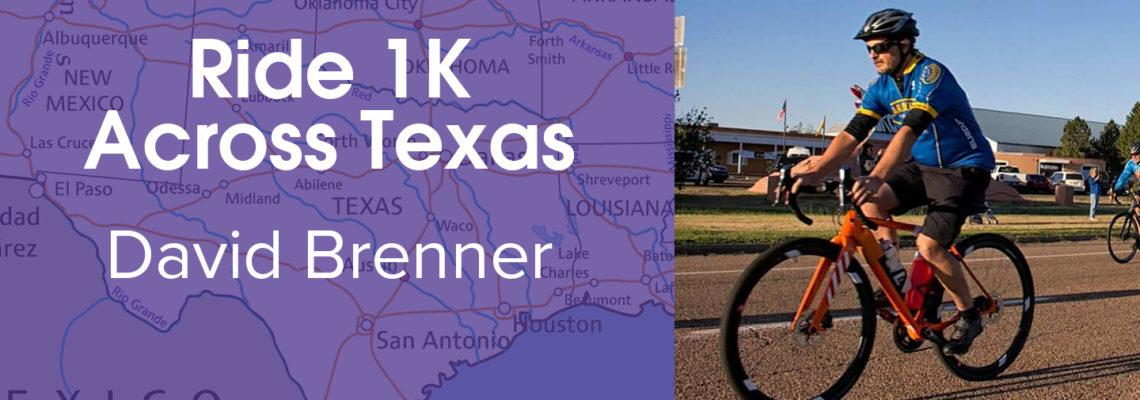 Bike 1K For PCHAS: David Brenner