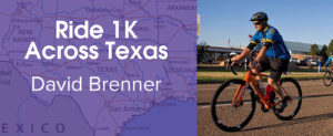 Bike 1K For PCHAS: David Brenner