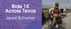 Bike 1K For PCHAS: Jared Schreher