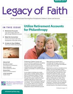 Legacy of Faith Winter 14