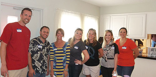 Members of the Ashley House Advisory Board