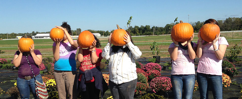 Fall Fun for the Girls at PCHAS' Ashley House