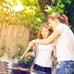 How a Grill Changed a Girl