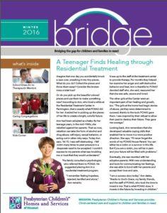 Bridge newsletter, February 2016 cover