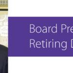 Board President Retiring Dec. 31